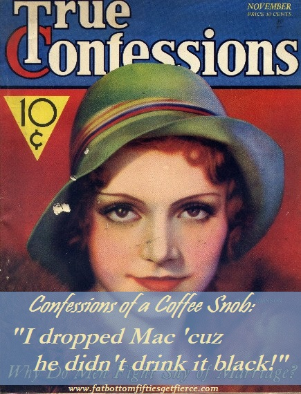 Confessions of a Coffee Snob