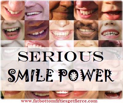 Serious Smile Power